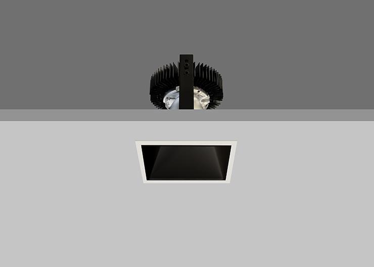 Ambiance X100  Black reflector